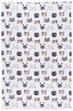 Now Designs Teatowel Cats Meow