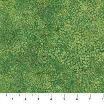 Morning Glory Shimmer Pebbles Medium Green