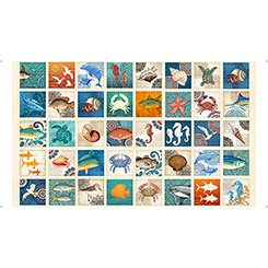 Ocean Oasis Small Fish Patch #82