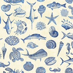 Ocean Oasis Fish Blueprint Cream