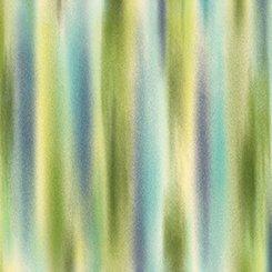 Ariel Scroll Ombre Stripe Aqua