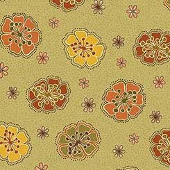 Willow Flowers Olive