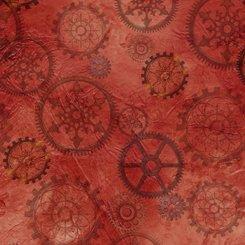 Aquatic Steampunkery GEARS RED