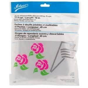 Ateco 18in disposable decoratign bags 10pc