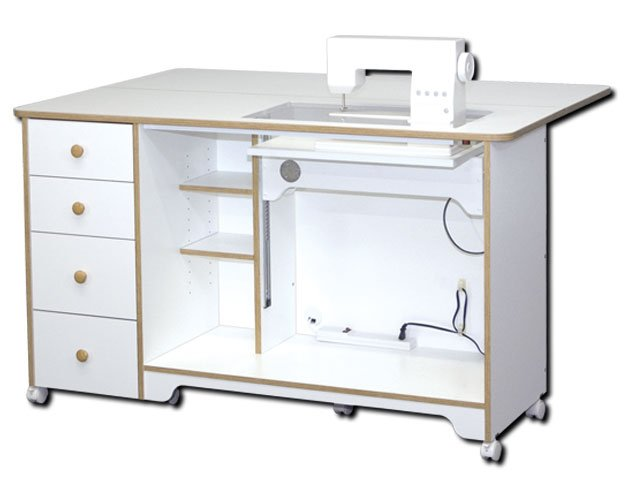 Horn 40EL Elite Elevated Electric Lift Cabinet 40 Interesting Horn Sewing Machine Table