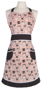 Now Designs apron Betty Cats Meow