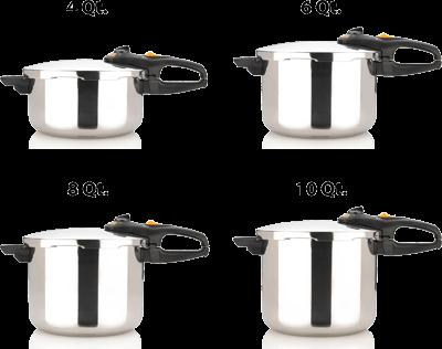 Fagor Duo Pressure Cooker 8qt.