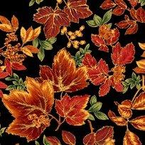 Abundance Black Leaves