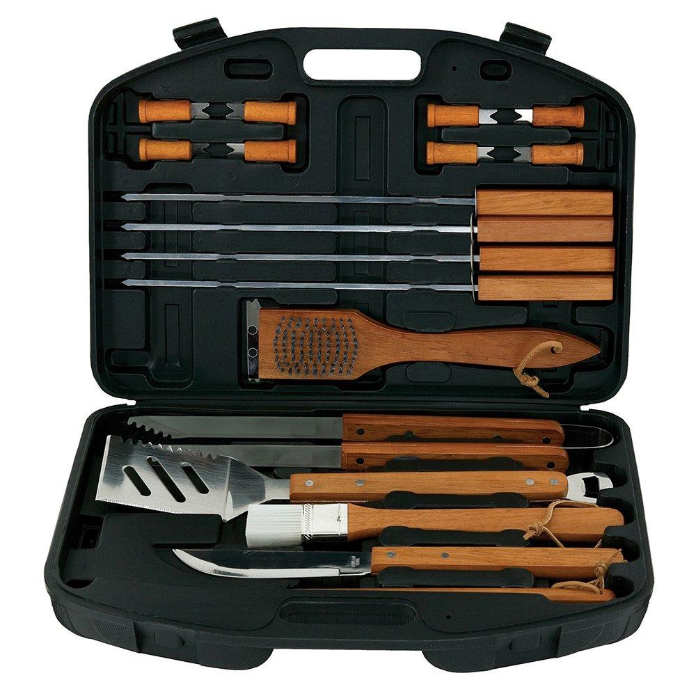MR. BBQ 18PC Barbecue Tool Set