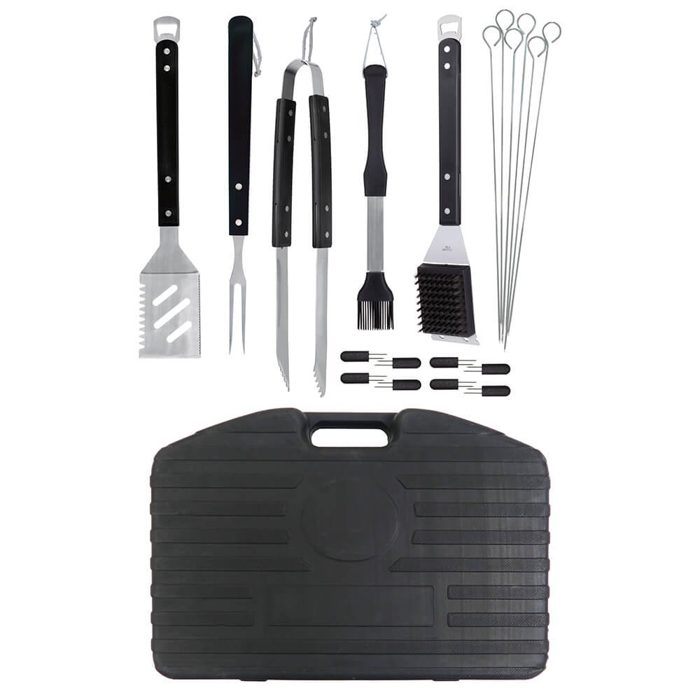 MR. BBQ 20PC Barbecue Tool Set