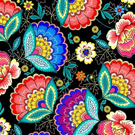 Dazzling Garden Dazzling Blooms Black