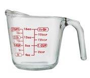 Anchor Hocking measuring cup 16oz