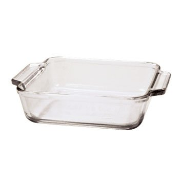 Anchor Hocking 8 x 8 glass pan