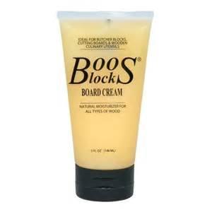 Boos Block Bees Wax Cream