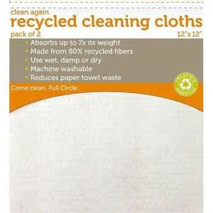 Full Circle clean again extra absorbent cleaning cloths 2pk