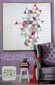 Dancing Triangles Pattern