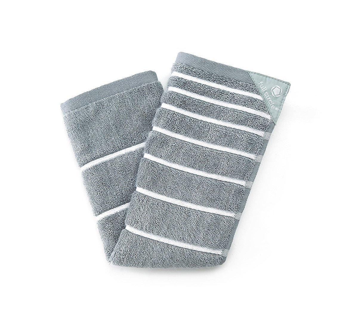 Full Circle Stick 'Em Handy Kitchen Towel Grey