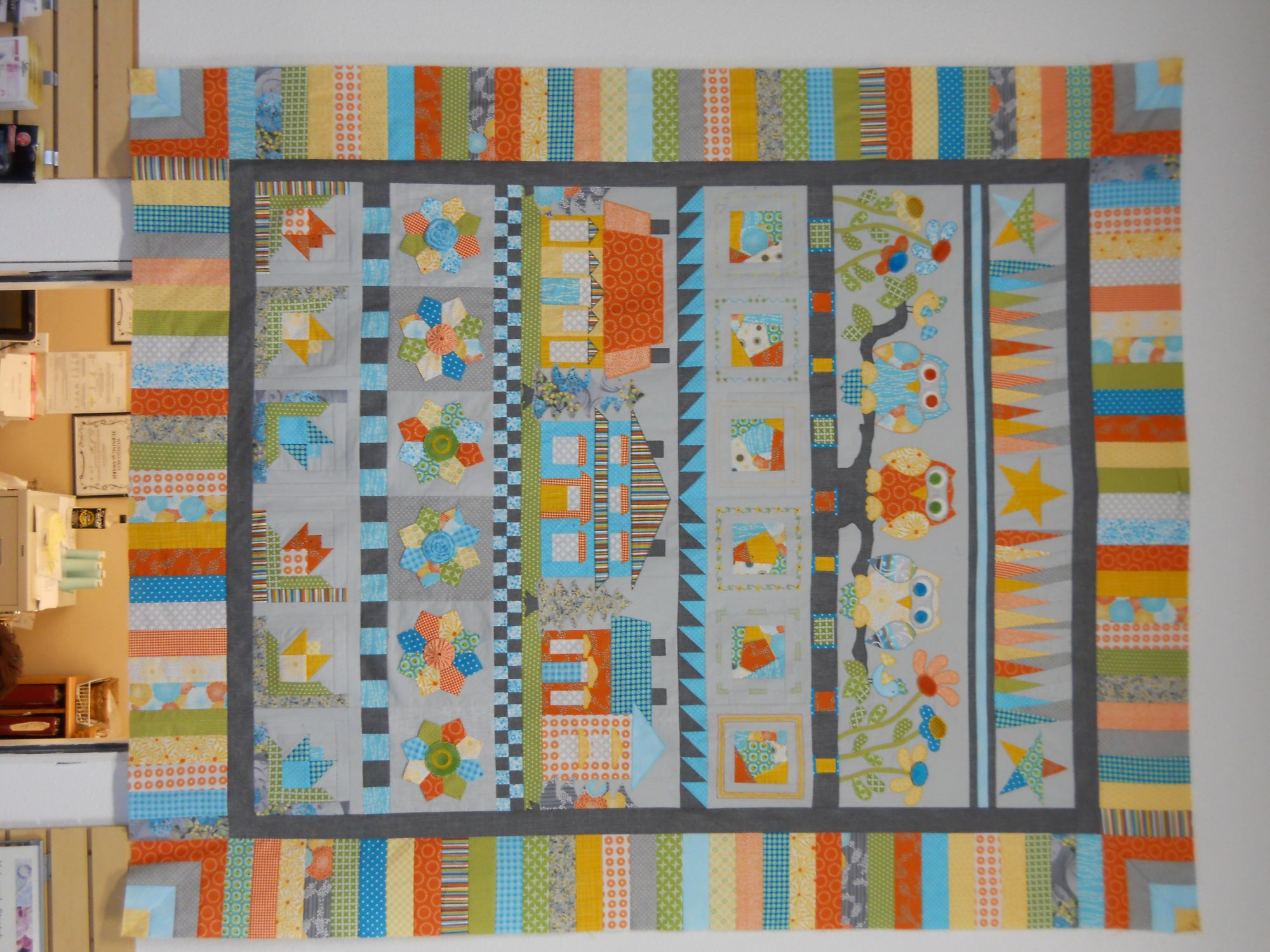 A Quilters Row Quilt
