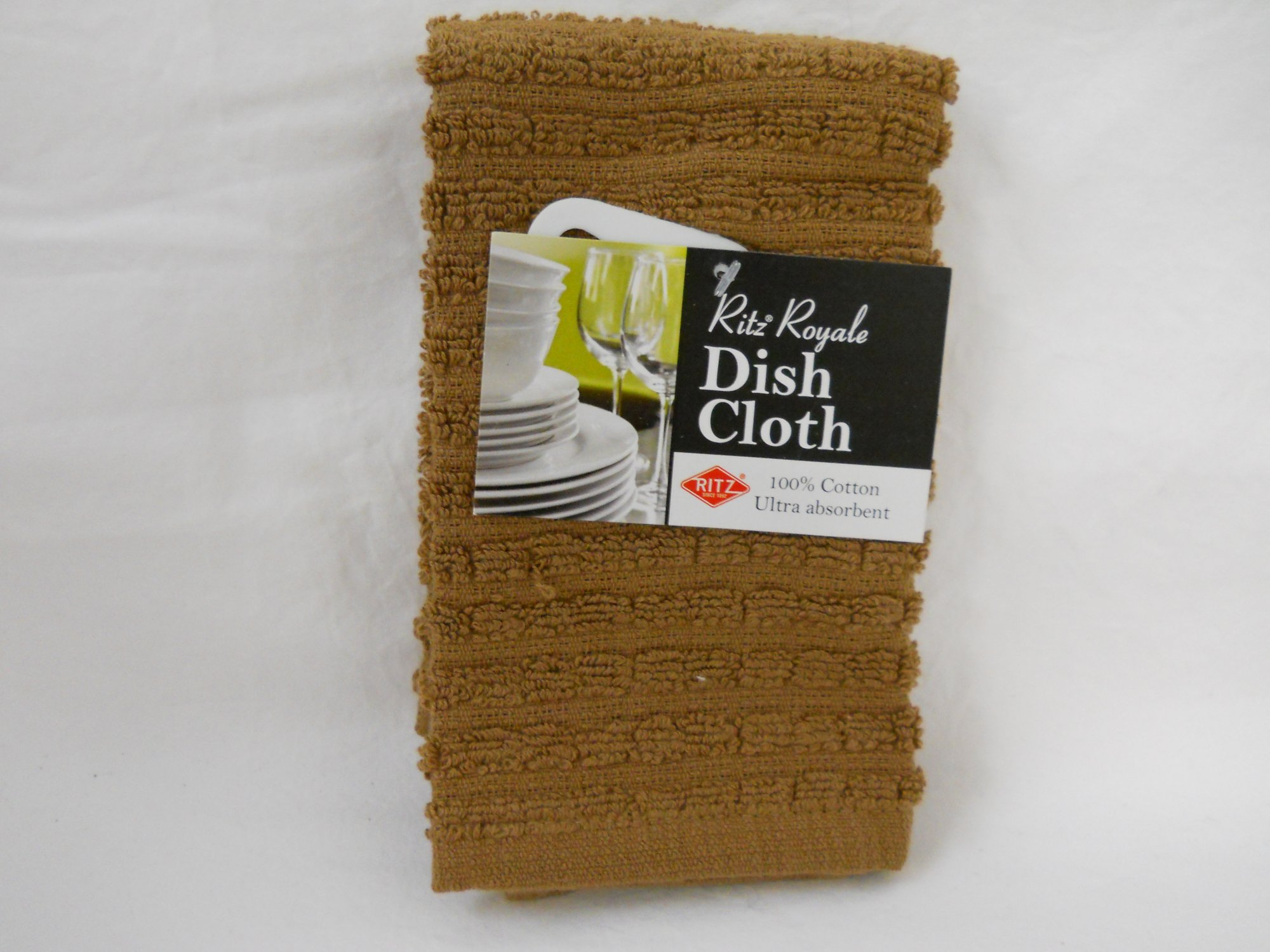 Ritz Royale dish cloth mocha