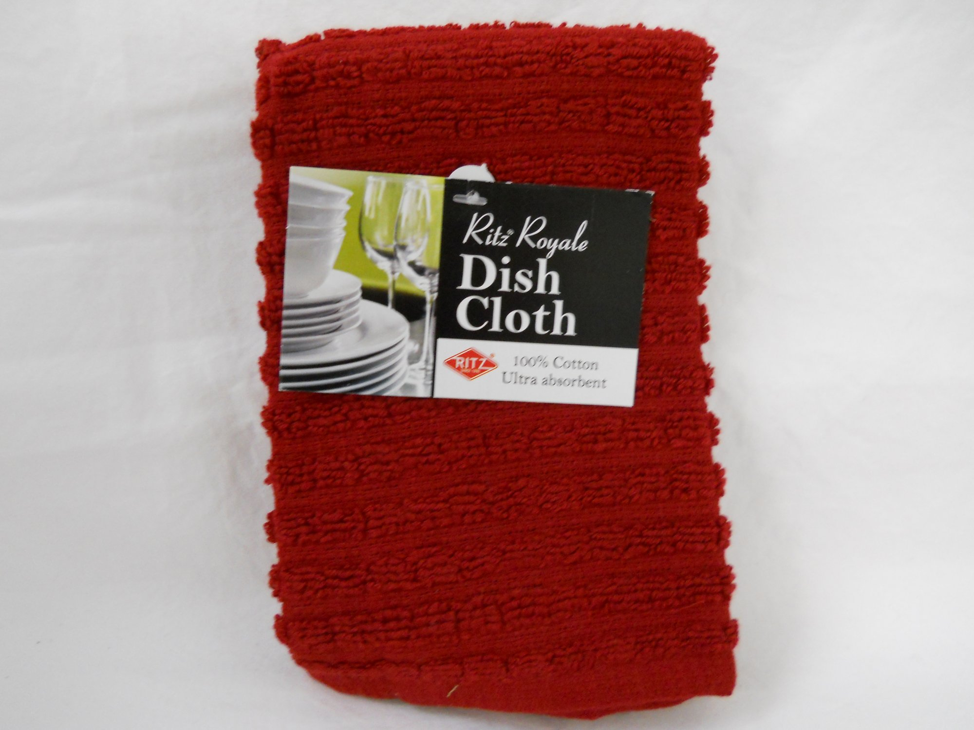 Ritz Royale dish cloth paprika