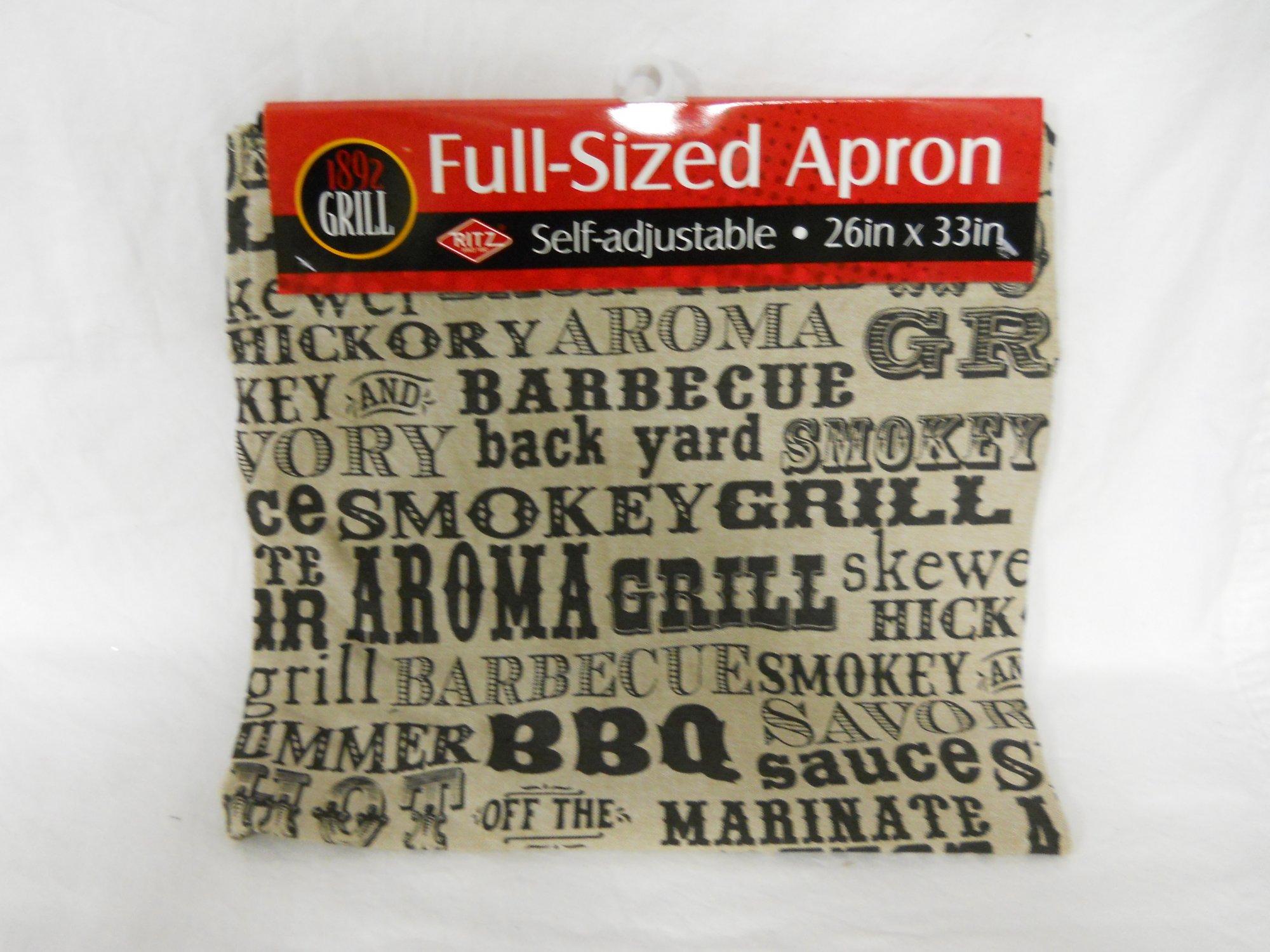 Ritz apron chambray BBQ