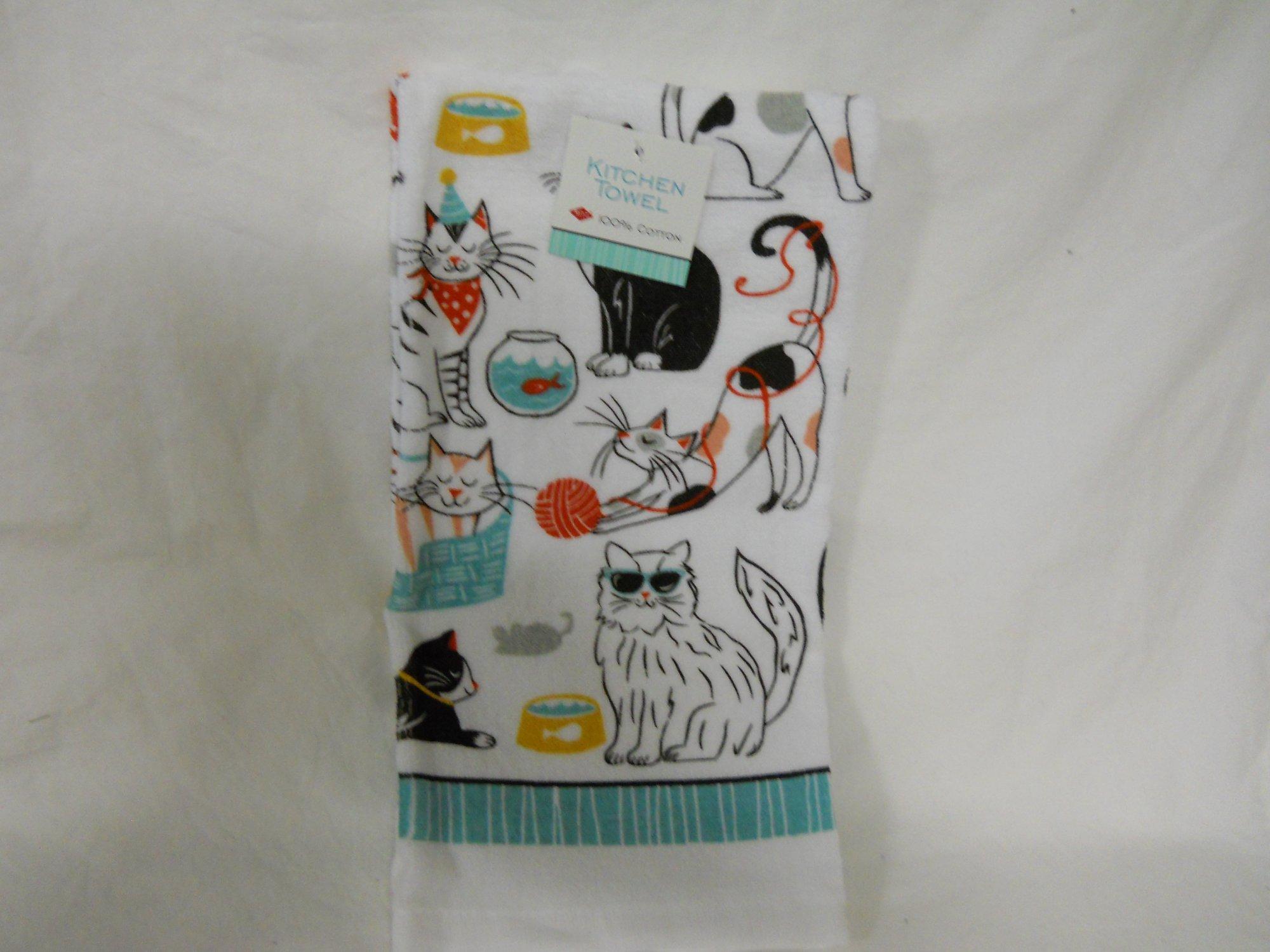 Ritz kitchen towel Cats