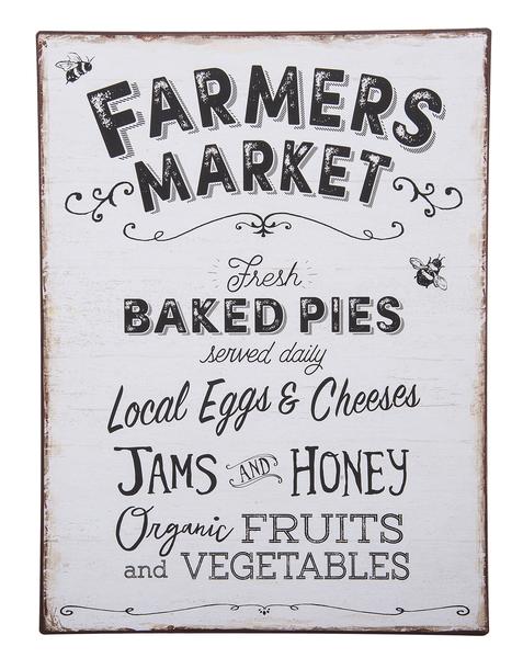 Ganz Farmers Market Sign