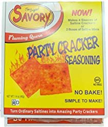Party Cracker Seasoning Classic Flaming Queso