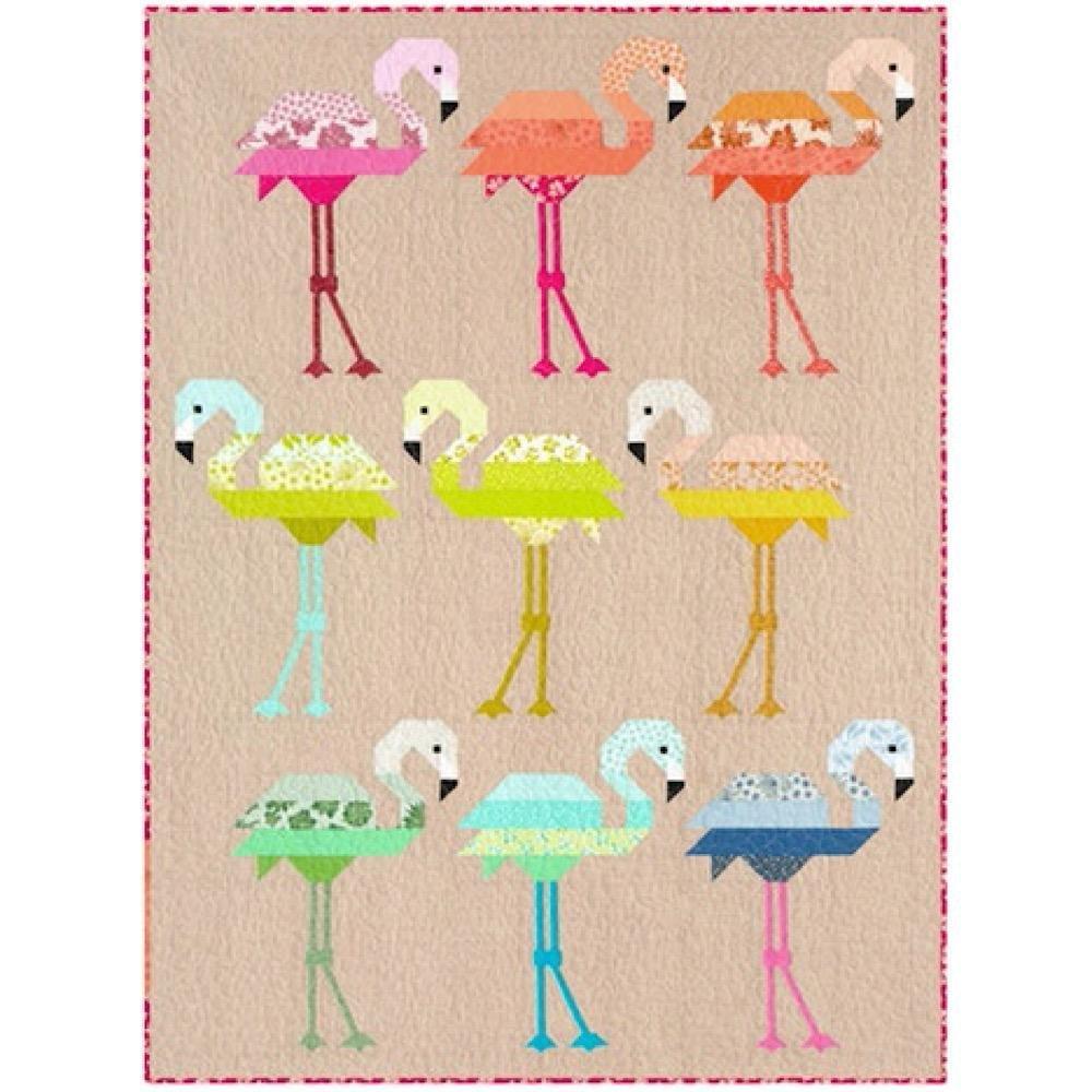 Quilt Kit Florence Flamingo (OCTOBER 2021)
