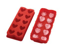 Puffed Heart Ice Cube Tray