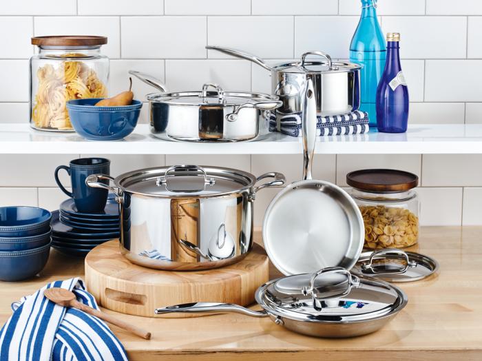 Hammer Stahl 10pc Cookware Set