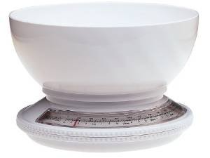 Progressive kitchen scale