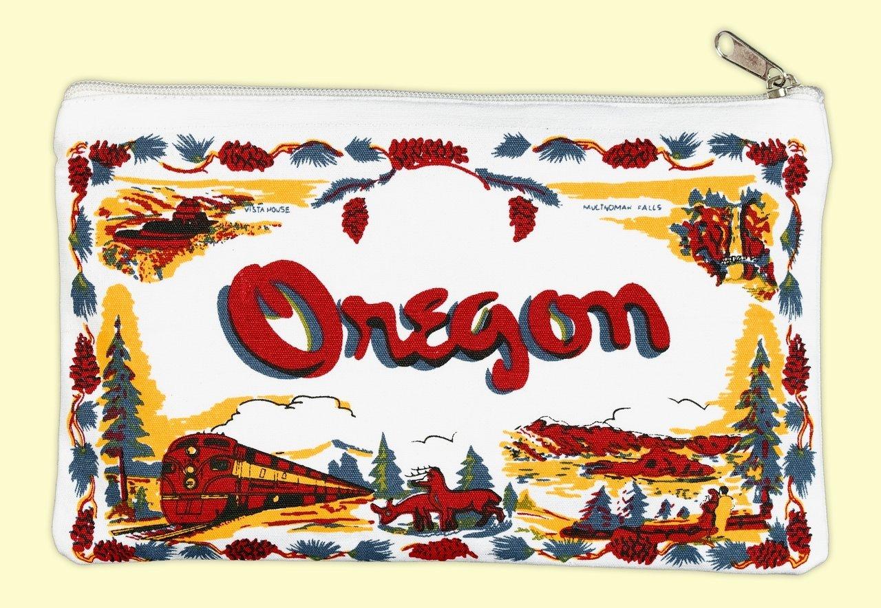 Oregon State Souvenir Travel Pouch