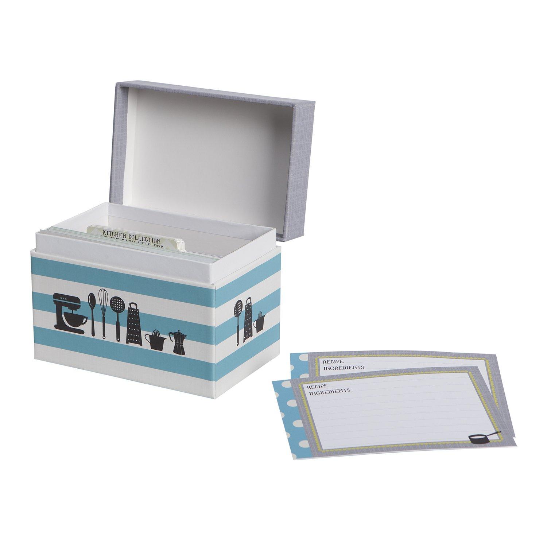 CR Gibson Recipe Box Kitchen Gear