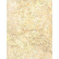 Essentials Mottled Leaves White 108