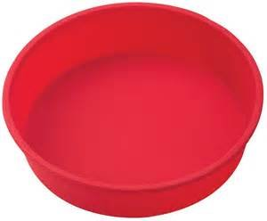 The Essentials silicone  round cake pan 9