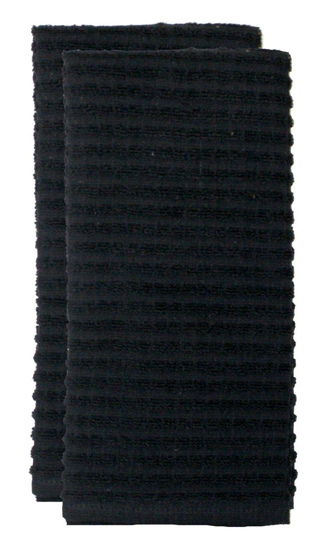 Ritz Royale solid kitchen towel black