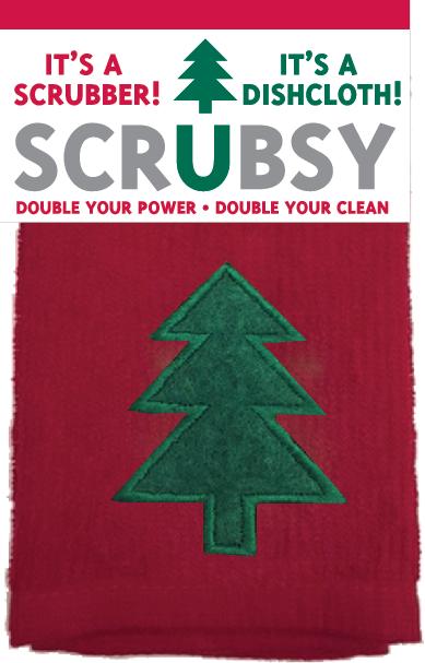 Mu Kitchen scrubsy tree