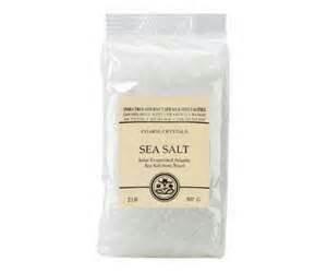 India Tree sea salt, coarse 24oz