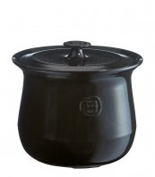 Emile Henry soup pot 4.2qt charcoal