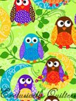 Exclusively Quilters What a Hoot-60030-6