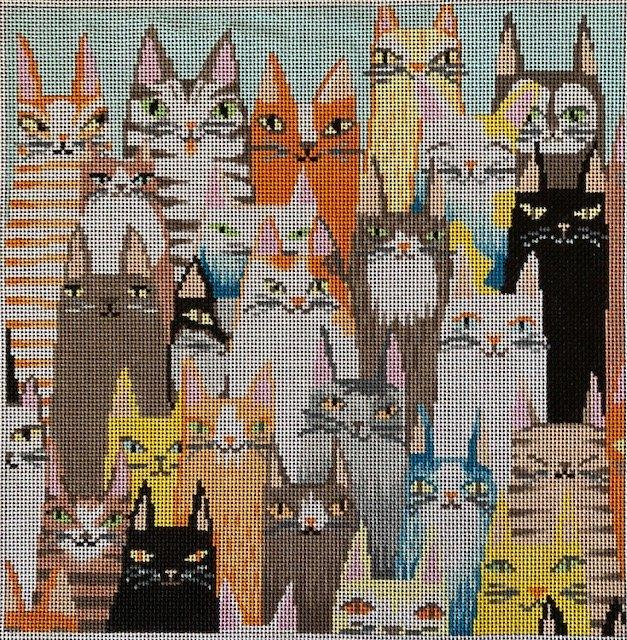 ASIT108 Many Cats