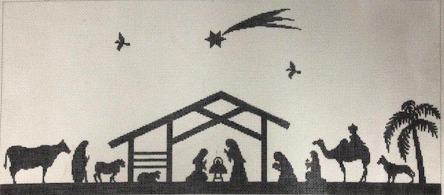 ASIT113 Nativity silouette