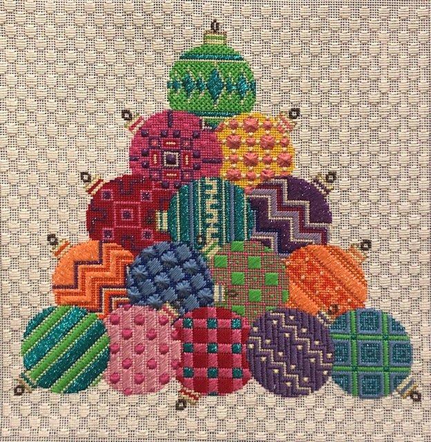 ASIT198SG Ornament Stack Stitch Guide