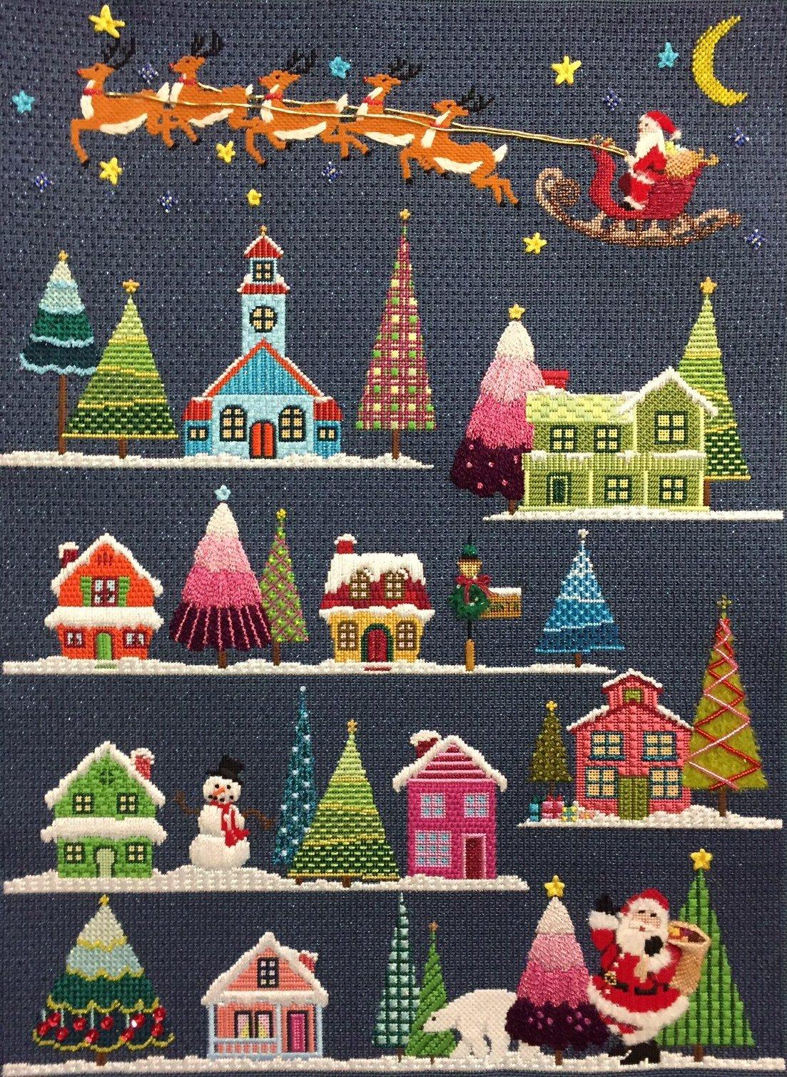 ASIT202 SG Christmas Village Stitch Guide