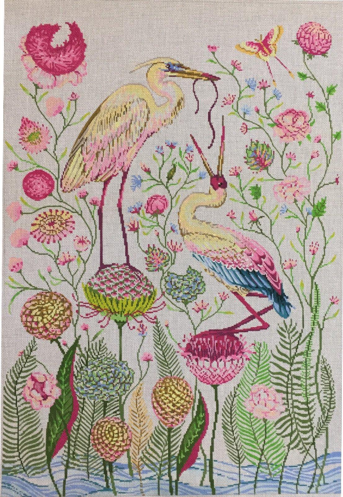 ASIT203 Pink Cranes