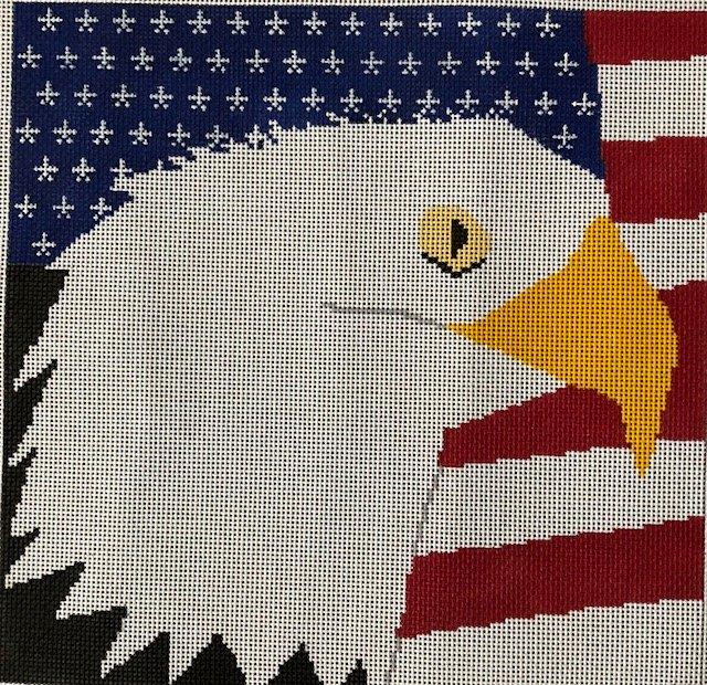 ASIT214 Eagle & Flag