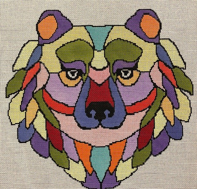 ASIT276SG Colorful Bear Stitch Guide