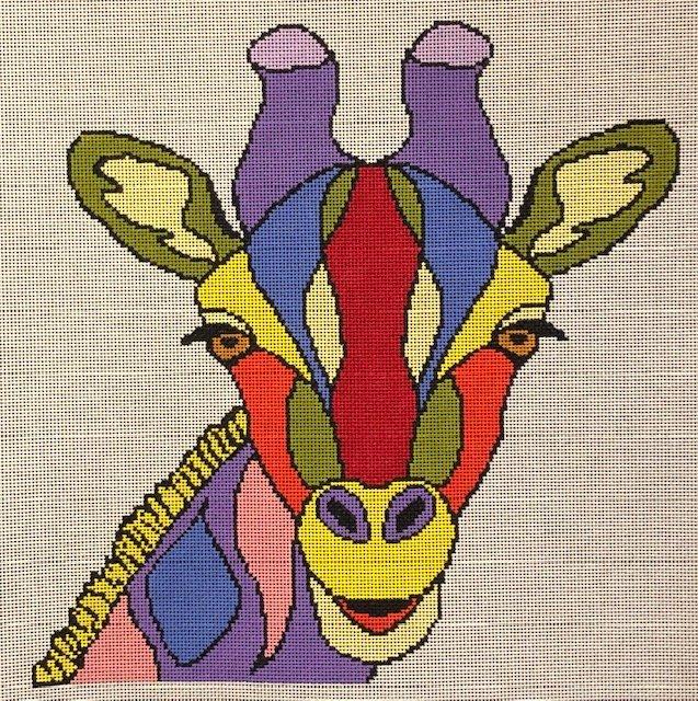 ASIT278 Colorful Giraffe