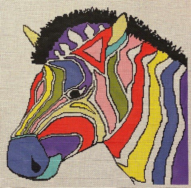 ASIT279 Colorful Zebra